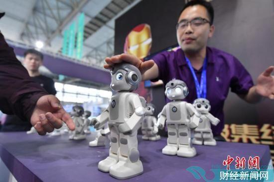 资料图:人工智能机器人。中新社记者 任东 摄