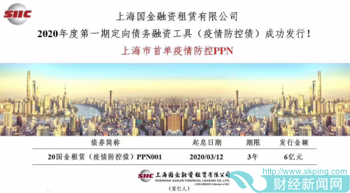 """用好金融""""工具箱"""",危难之际显身手——恒丰银行上海分行助力上海市首单疫情防控PPN"""