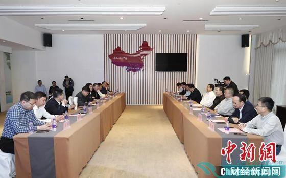 2020年12月16日,华阳新材料科技集团与中国华能集团有限公司签署合作框架协议,在新材料新能源等领域全面深化战略合作。华阳新材料科技集团供图