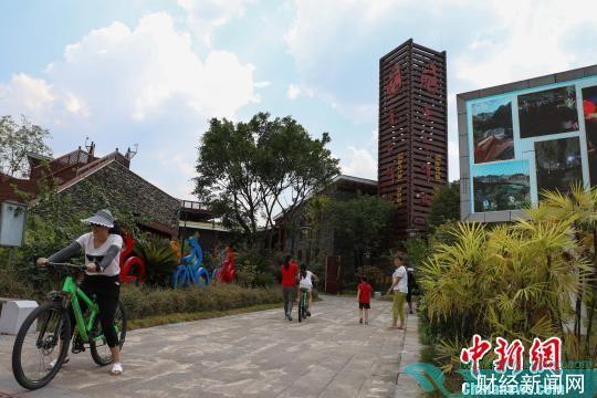 图为贵州遵义茅台驿站。 瞿宏伦 摄