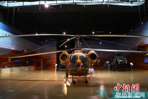 图为江西直升机科技馆展出的卡-26直升机。刘占昆 摄