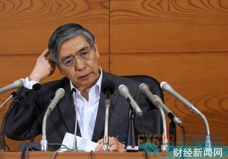 """黑田极力放""""鸽""""扫清市场疑虑 美元兑日元短线跳涨"""