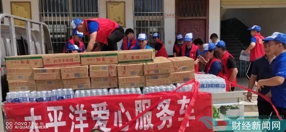 """河南暴雨中的""""蓝丝带""""——记逆流而上的中国太保志愿者"""