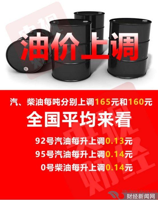 国内油价4连涨 多地步入8元时代