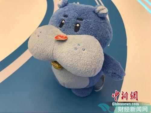 资料图:盒马鲜生吉祥物。中新网 吴涛 摄